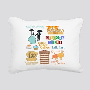 Gilmore Girls Rectangular Canvas Pillow