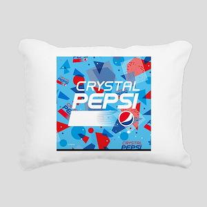 Crystal Pepsi Rectangular Canvas Pillow