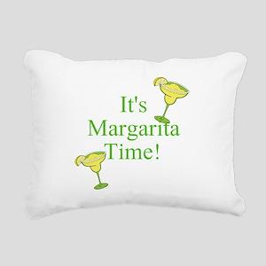 Its Margarita Time! Rectangular Canvas Pillow
