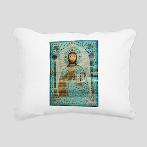 Christ the Teacher Rectangular Canvas Pillow