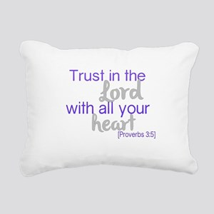 Trust in the Lord Rectangular Canvas Pillow