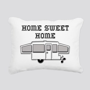 HomeSweetHomePopUp Rectangular Canvas Pillow