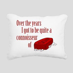 Soap-Connoisseur Rectangular Canvas Pillow