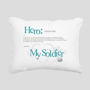 new hero design armybk Rectangular Canvas Pill