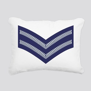 RAF-Corporal-Cap Rectangular Canvas Pillow