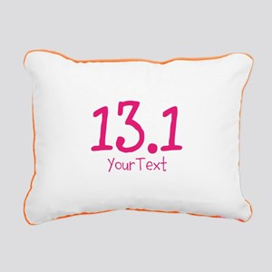 Customize PINK 13.1 Rectangular Canvas Pillow