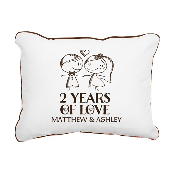 2nd Wedding Anniversary Personalized