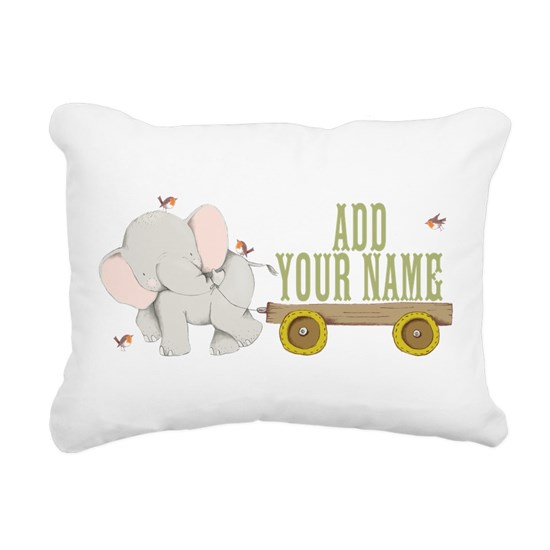 PERSONALIZED Cute Elephant Cart