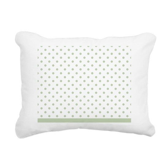 Light Green Dots Design