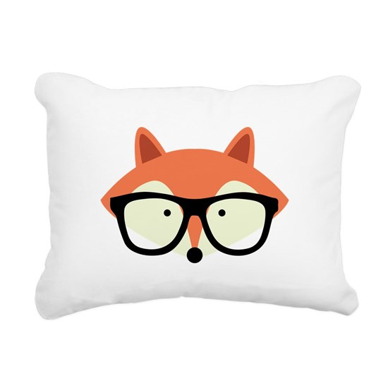 Hipster Red Fox