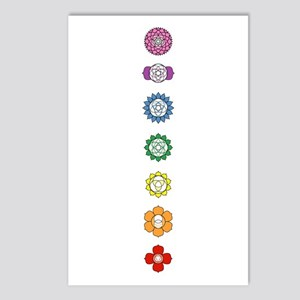 Chakra Art Postcards (Package of 8)