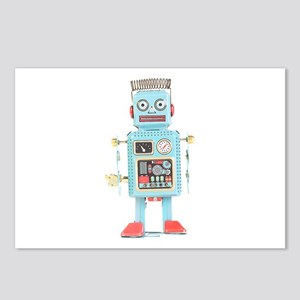 Classic Tin Robot Postcards (Package of 8)