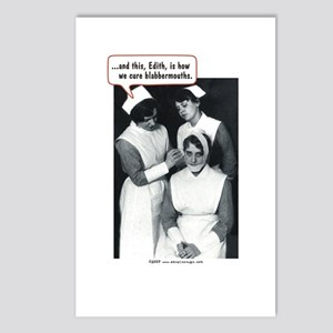 Nurse Blabbermouth Cure Postcards (Package of 8)
