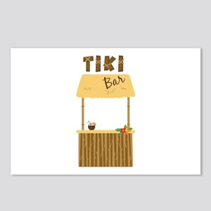 Tiki Bar Postcards (Package of 8)