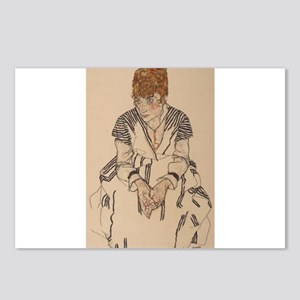 Egon Schiele- Artist' Postcards (Package of 8)
