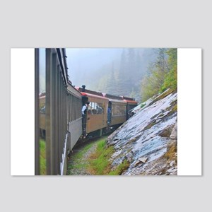 Winter Train Postcards (Package of 8)
