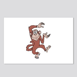 Monkey Excited Postcards (Package of 8)