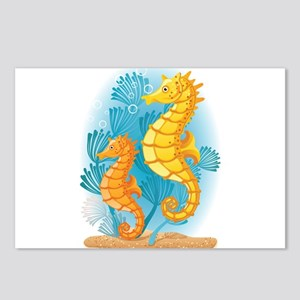 Seahorse Duo Postcards (Package of 8)