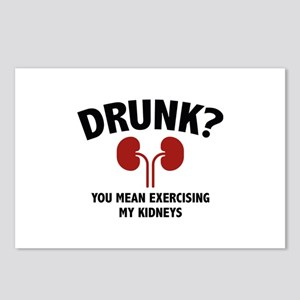 Exercising My Kidneys Postcards (Package of 8)