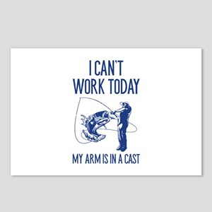 I Can't Work Today Postcards (Package of 8)