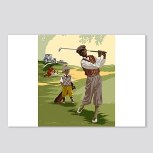Golf Game Postcards (Package of 8)