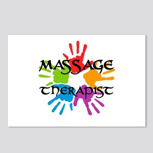 Massage Therapist Postcards (Package of 8)