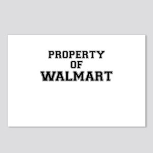 Property of WALMART Postcards (Package of 8)