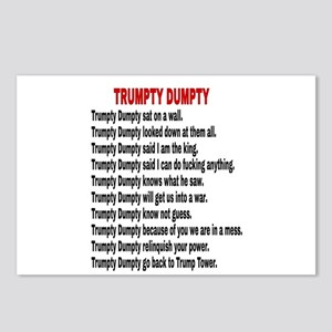 TRUMPTY DUMPTY Postcards (Package of 8)