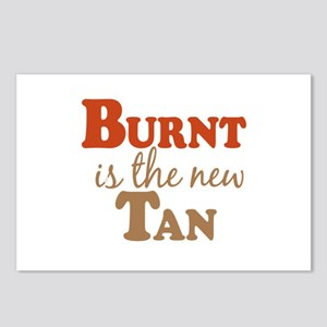 Burnt is the new Tan Postcards (Package of 8)