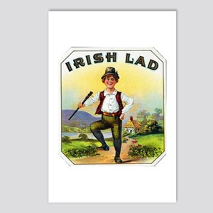 Irish Lad Cigar Label Postcards (Package of 8)