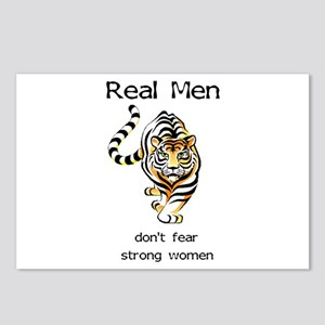 Real Men Postcards (Package of 8)
