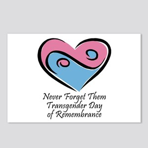 Transgender Day of Remembrance Postcards (Package