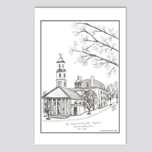 St. John's Church Postcards (Package of 8)