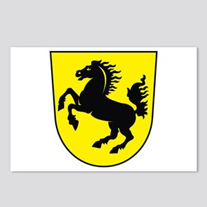 Stuttgart Coat of Arms Postcards (Package of 8)