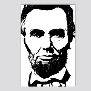 Abe Lincoln Silhouette Postcards (Package of 8)