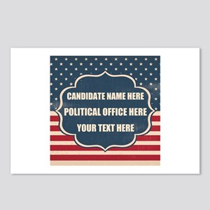 Personalized USA Presiden Postcards (Package of 8)