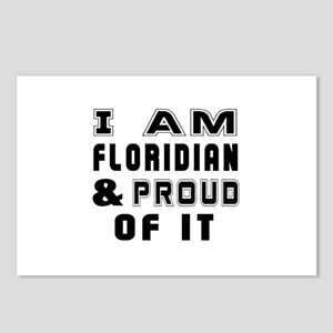 I Am Floridian Postcards (Package of 8)