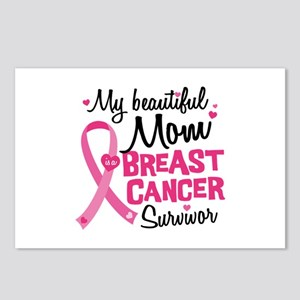 Mom Breast Cancer Postcards (Package of 8)