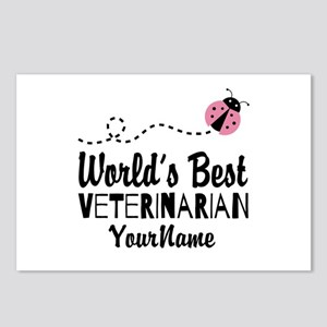 World's Best Veterinarian Postcards (Package of 8)