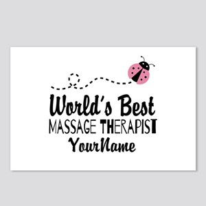 World's Best Massage Ther Postcards (Package of 8)