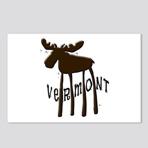 Vermont Moose Postcards (Package of 8)