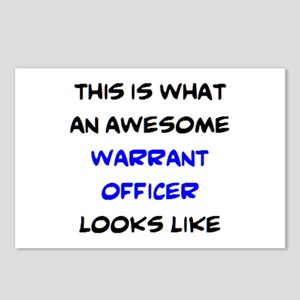 awesome warrant officer3 Postcards (Package of 8)