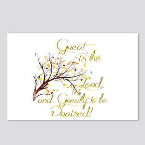 Great is the Lord Postcards (Package of 8)