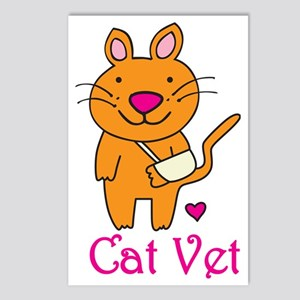 Cat Vet Postcards (Package of 8)