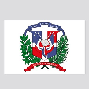 Dominican Republic Coat of Ar Postcards (Package o