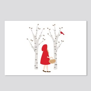 Red Riding Hood Postcards (Package of 8)
