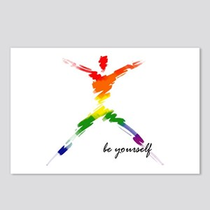 Gay Pride - Be Yourself Postcards (Package of 8)