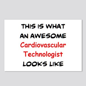 awesome cardiovascular te Postcards (Package of 8)