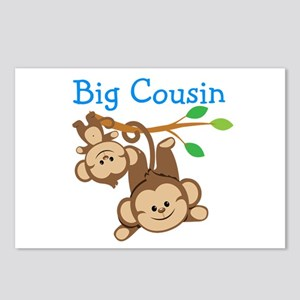 Boys Monkeys Big Cousin Postcards (Package of 8)