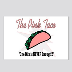The Pink Taco Postcards (Package of 8)